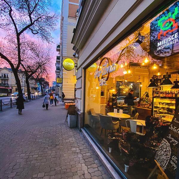 ParZona Cafe w Lublinie